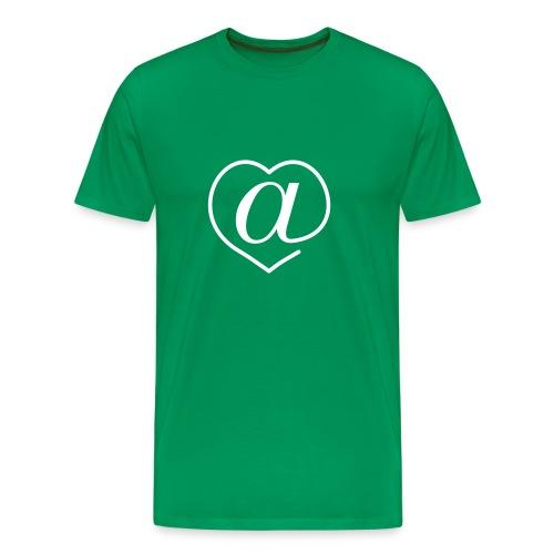 Arroba Love - Camiseta premium hombre