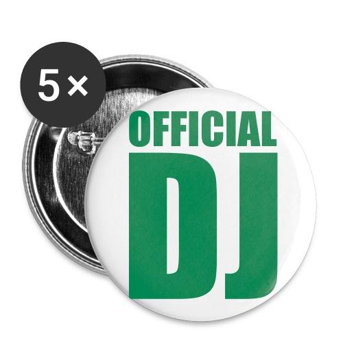 DJ Danny Anstecker - Buttons klein 25 mm