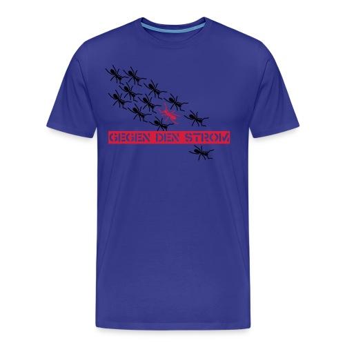 Ants - blue shirt - Männer Premium T-Shirt