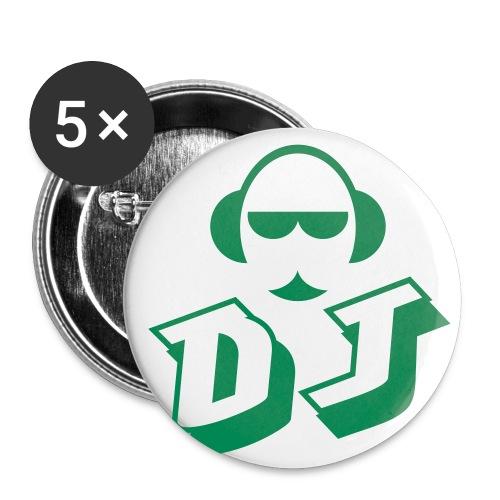 DJ Danny Anstecker - Buttons mittel 32 mm
