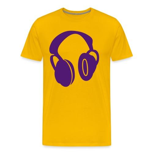 Headphones - Maglietta Premium da uomo