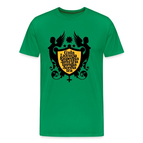 THE SEVEN DEADLY SINS - Men's Premium T-Shirt