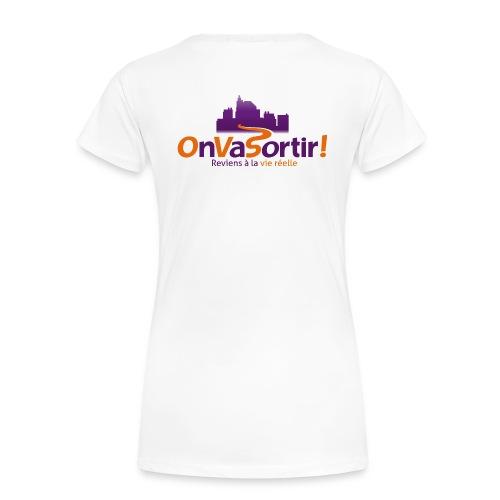 T-Shirt Femme OnVaSortir! avec Pseudo - T-shirt Premium Femme
