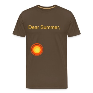 Summer Come Back - Men's Premium T-Shirt