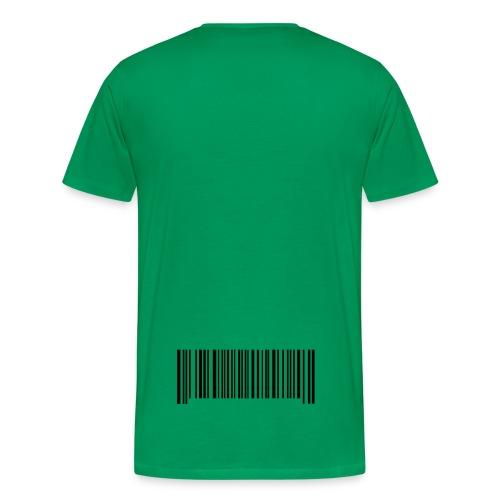Barcodes - Premium-T-shirt herr