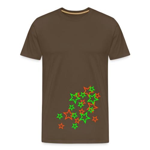 stars2 - Premium T-skjorte for menn