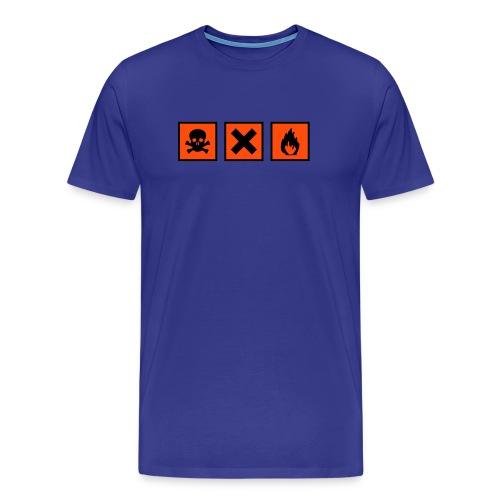 Celeste Químic - Camiseta premium hombre