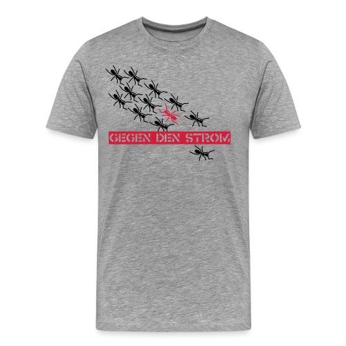 Ants - grey shirt - Männer Premium T-Shirt