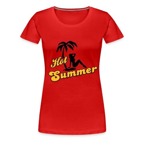 Hot Summer - Frauen Premium T-Shirt