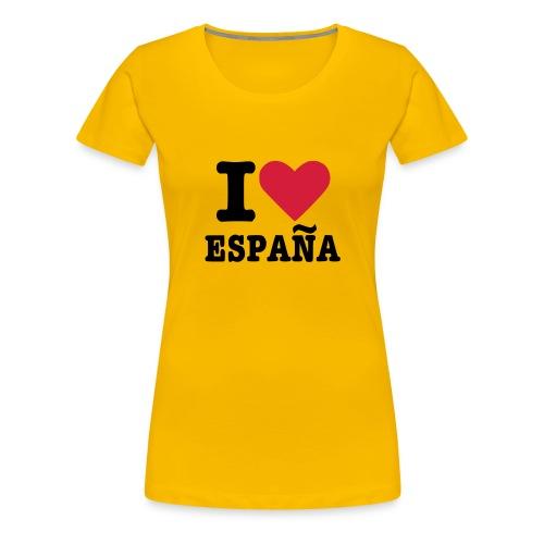 I Love España! - Camiseta premium mujer