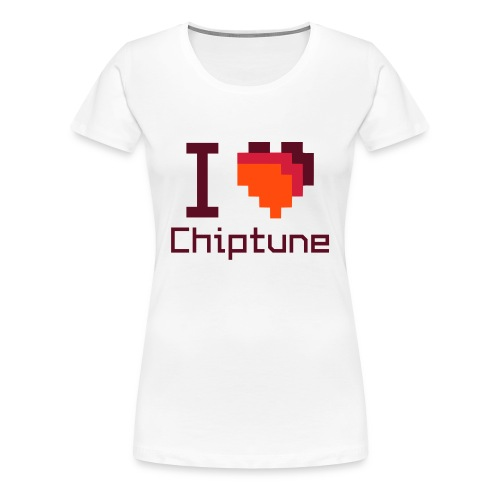 I love chiptune (women's edition) - Women's Premium T-Shirt