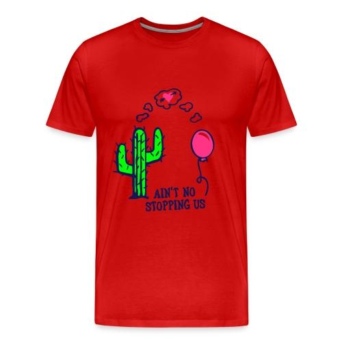 stoppin' us - Premium T-skjorte for menn