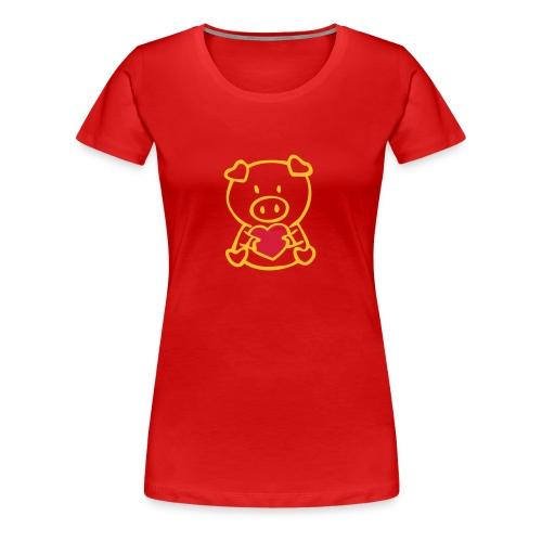 tee shit - T-shirt Premium Femme