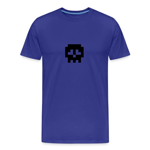 Men's Retro Skull Tee :D - Men's Premium T-Shirt