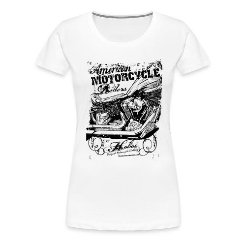 American MOTORCYCLE Riders| T-shirts harley biker - T-shirt Premium Femme