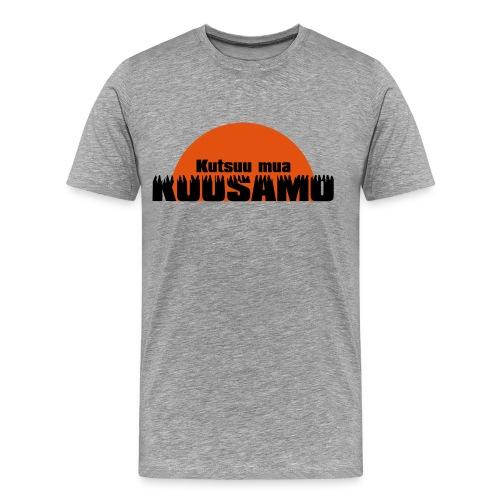 Kutsuu mua Kuusamo - Miesten premium t-paita