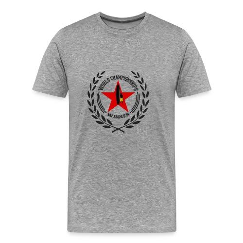 World champ - Premium T-skjorte for menn