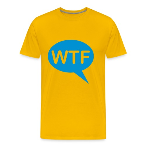 WTF T shirt - Men's Premium T-Shirt