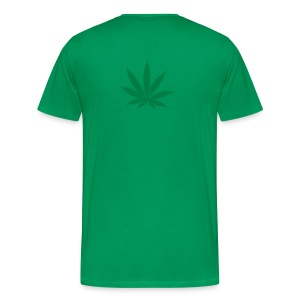 I want to be a hippy and I want to get stoned - Mannen Premium T-shirt