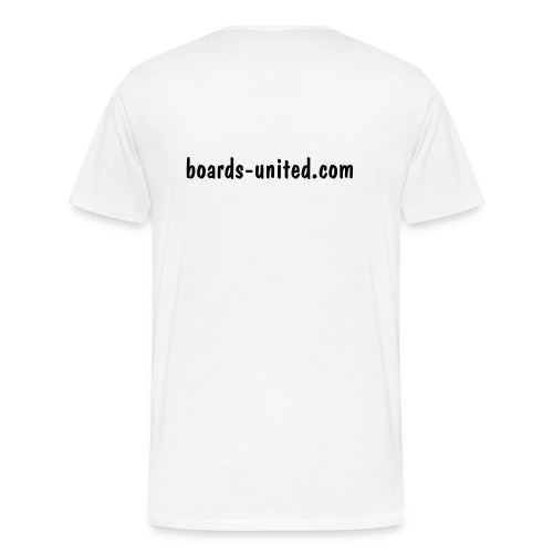 Shirt - boards-united.com - Männer Premium T-Shirt