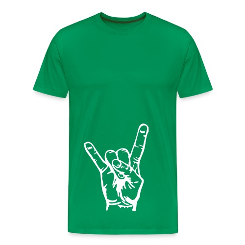 Rock - Premium-T-shirt herr