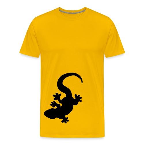 Lizzard - Premium-T-shirt herr
