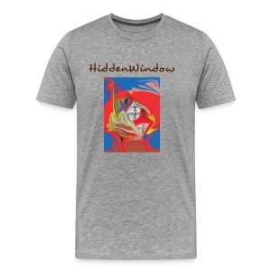 HiddenWindow grey - Männer Premium T-Shirt