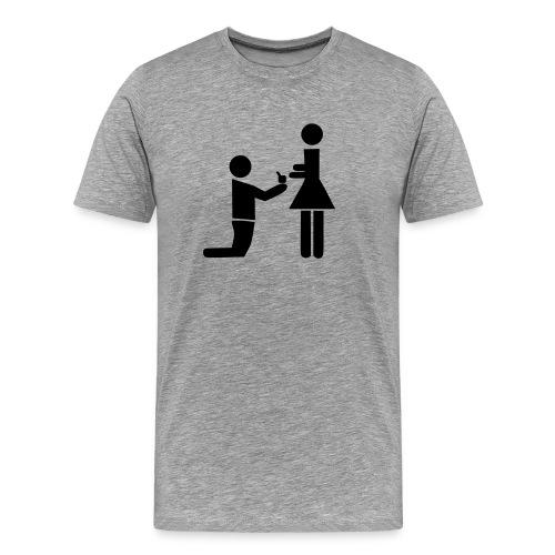 Basis, frieri - Premium T-skjorte for menn