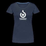 Tee shirts ~ T-shirt Premium Femme ~ Wikimedia Commons torse Couleur