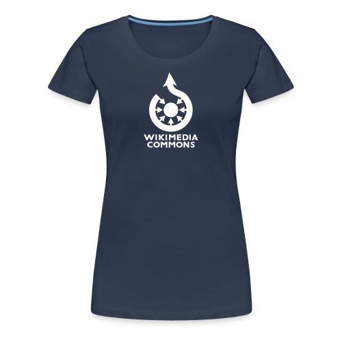 Wikimedia Commons torse Couleur - T-shirt Premium Femme