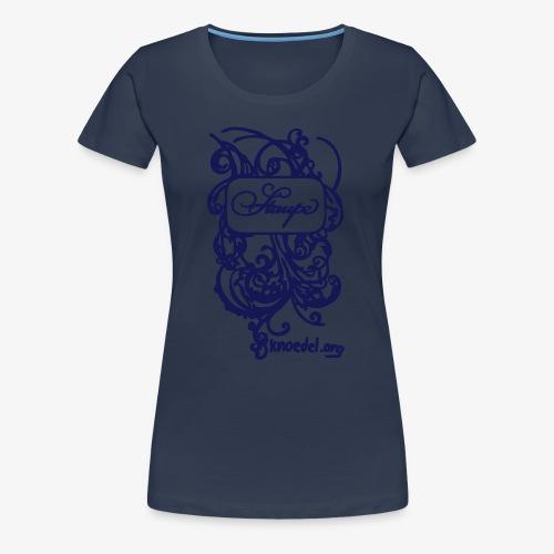 Staupe Navy - Frauen Premium T-Shirt