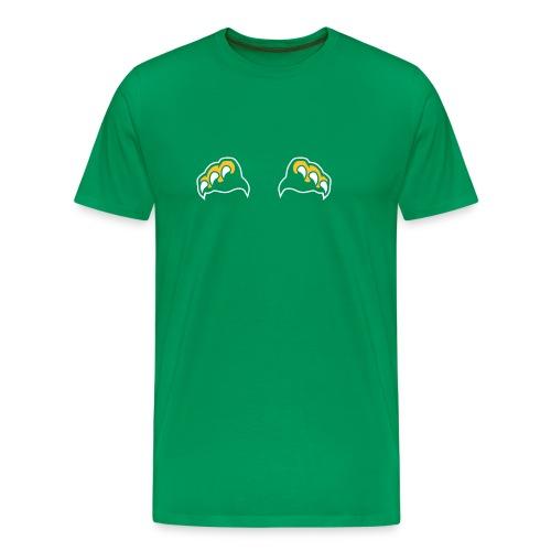 tiikerin tassut - Miesten premium t-paita