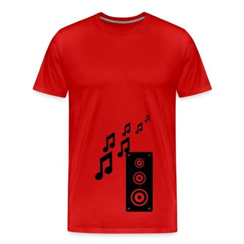 puzel - Premium-T-shirt herr