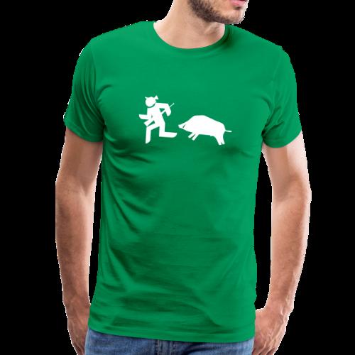 Jäger-Shirt Flucht - Männer Premium T-Shirt