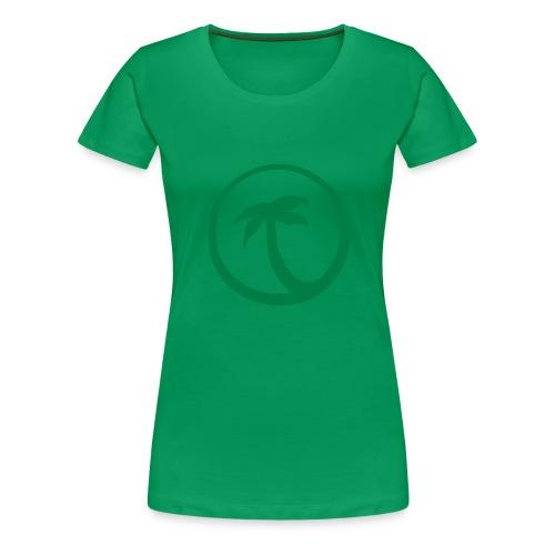 Palme - Frauen Premium T-Shirt