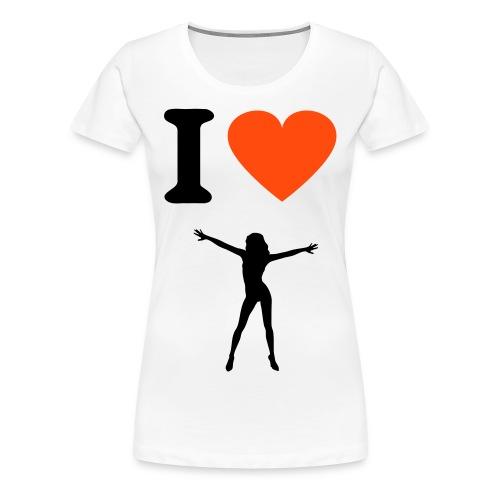 i(L)dancing - Vrouwen Premium T-shirt
