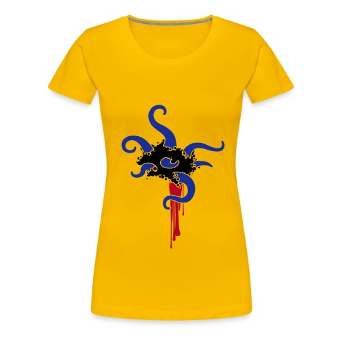 Cthulhu Tentakel - Frauen Premium T-Shirt
