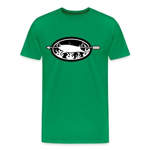 Spanferkel 004 - Männer Premium T-Shirt