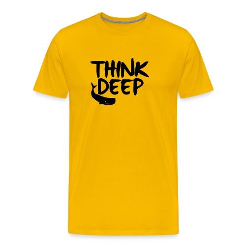 Think deep - Premium T-skjorte for menn