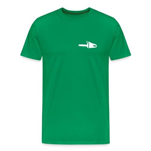 Motorsäge1 - Männer Premium T-Shirt