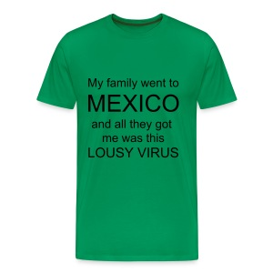 Mexico virus - Men's Premium T-Shirt