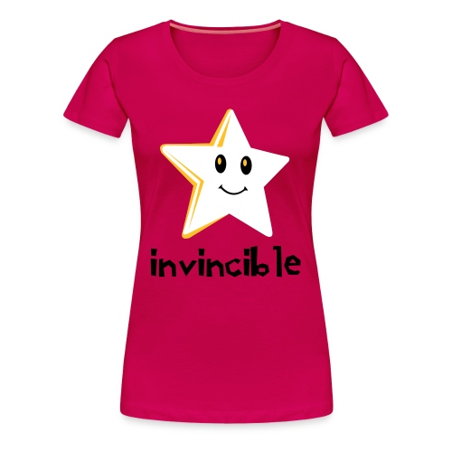 Glow In The Dark Invincible - Women's Premium T-Shirt