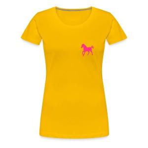 KOSZULKA KOŃ - Koszulka damska Premium