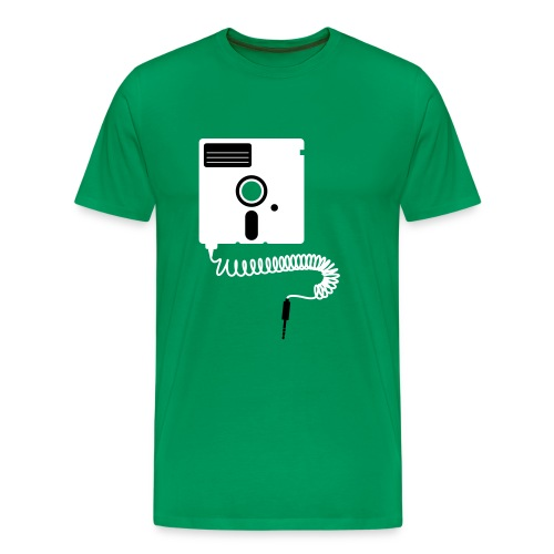 Plugin Floppy - Men's Premium T-Shirt