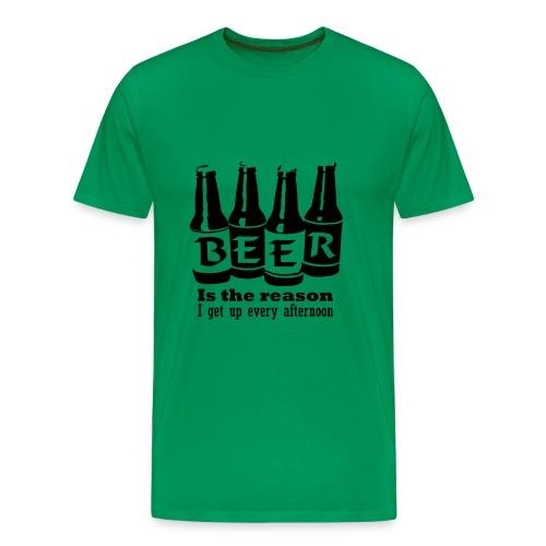 Beer - Premium-T-shirt herr