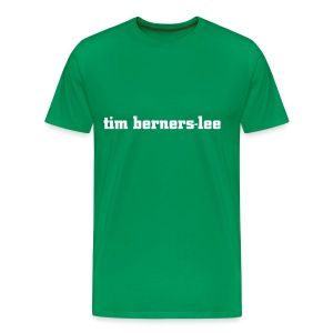 tim berners-lee - Men's Premium T-Shirt