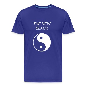 Blue Yin Yang Tee - Men's Premium T-Shirt