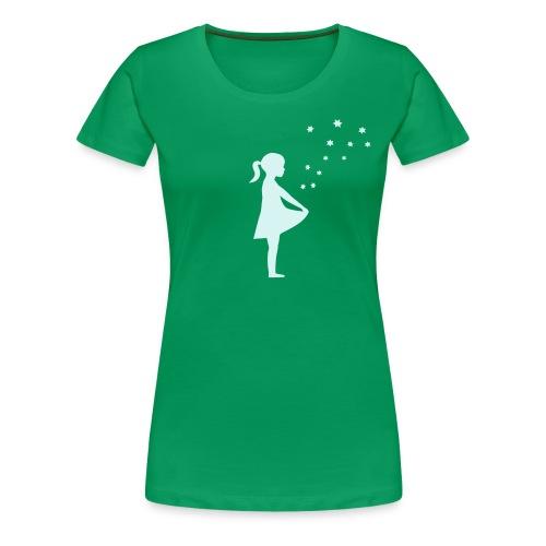 sterntaler grün - Frauen Premium T-Shirt