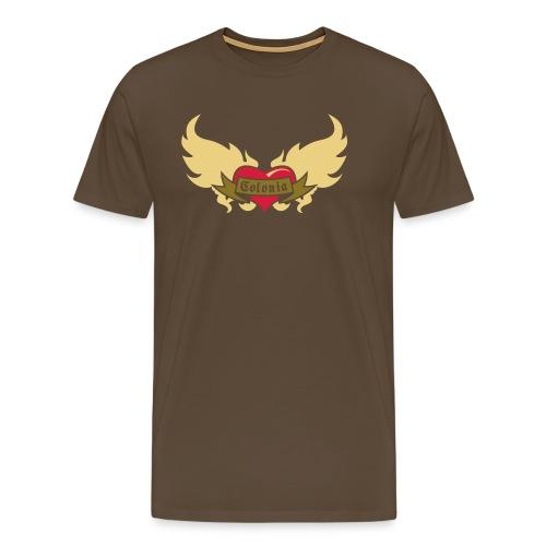 Colonia (Koelsches Haetz) - Männer Premium T-Shirt