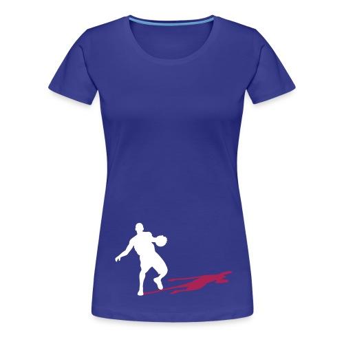 Basketball Coach girl - Vrouwen Premium T-shirt